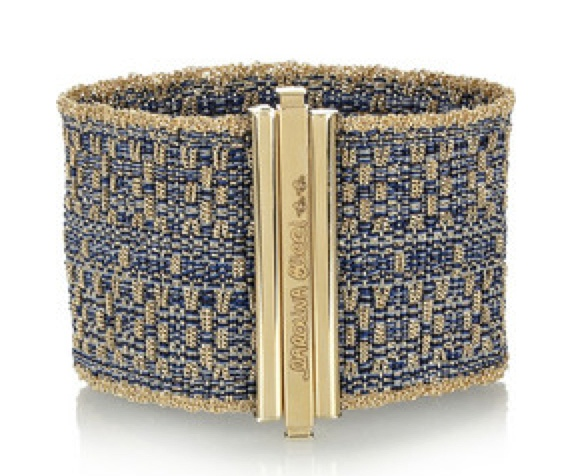 Carolina Bucci's woven 18-karat gold #cuff #jewelry #bracelet  from blog: http://geeliciouspassion.wordpress.com/2012/05/31/ethnicity/
