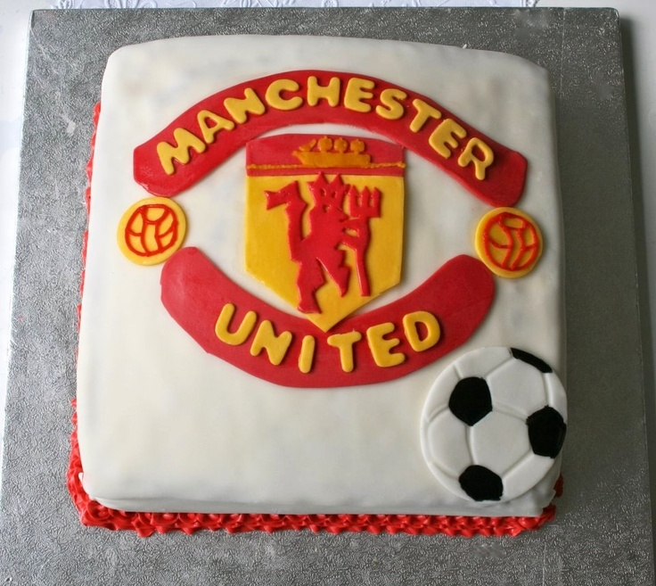 Manchester United Cake Pictures