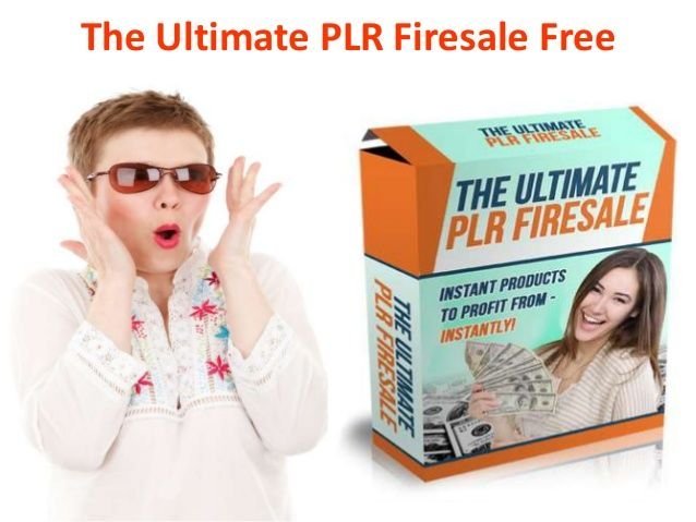 The Ultimate PLR Firesale Free