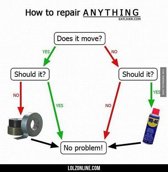 Here's How To Repair Anything#funny #lol #lolzonline