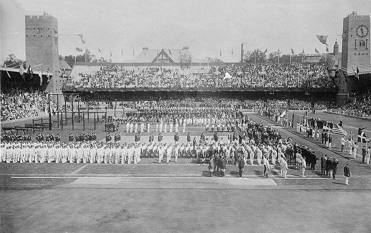 Stockholm 1912 ceremonie d'ouverture