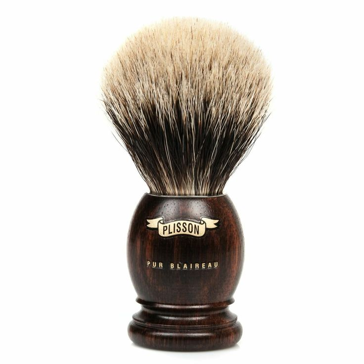 Ebony Shaving Brush by Plisson  Plisson brushes are handmade in France using largely the same techniques they have employed for over 200 years.   The ebony handle has a nice natural feel. Click image for details. #FathersDay #gifts #giftideas #giftshop #YVR #Vancity #vancouver #fashion #gentleman #menswear #luxury #plisson #quality #toileteries #face #body #shaving #shavingkit #beard #moustache #facialhair #badgerbristle #madeinfrance #ebony