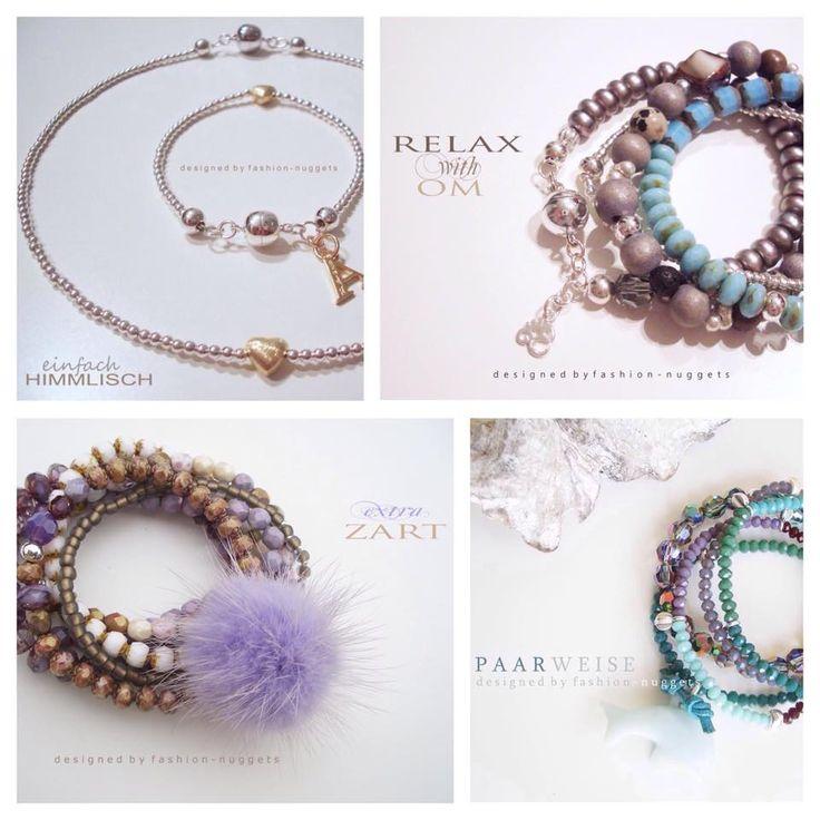 Schmuck von Fashion-Nuggets .....einfach wunderschön. Persönliche Wünsche, Farben und Vorstellungen werden bei Anfrage gerne liebevoll in Handarbeit verwirklicht. http://www.fashion-nuggets.de/