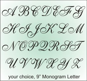 Fancy Font Alphabet Fancy Fonts Alphabet Clipart With Fancy Font
