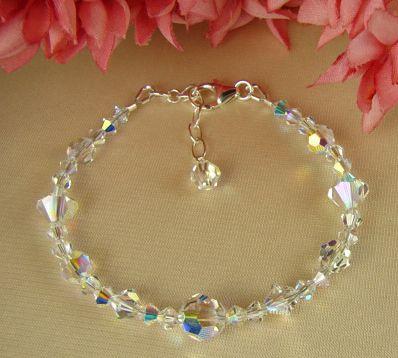 Brautschmuck swarovski kristallen  Die 26 besten Bilder zu Handmade Crystal Jewelry auf Pinterest ...
