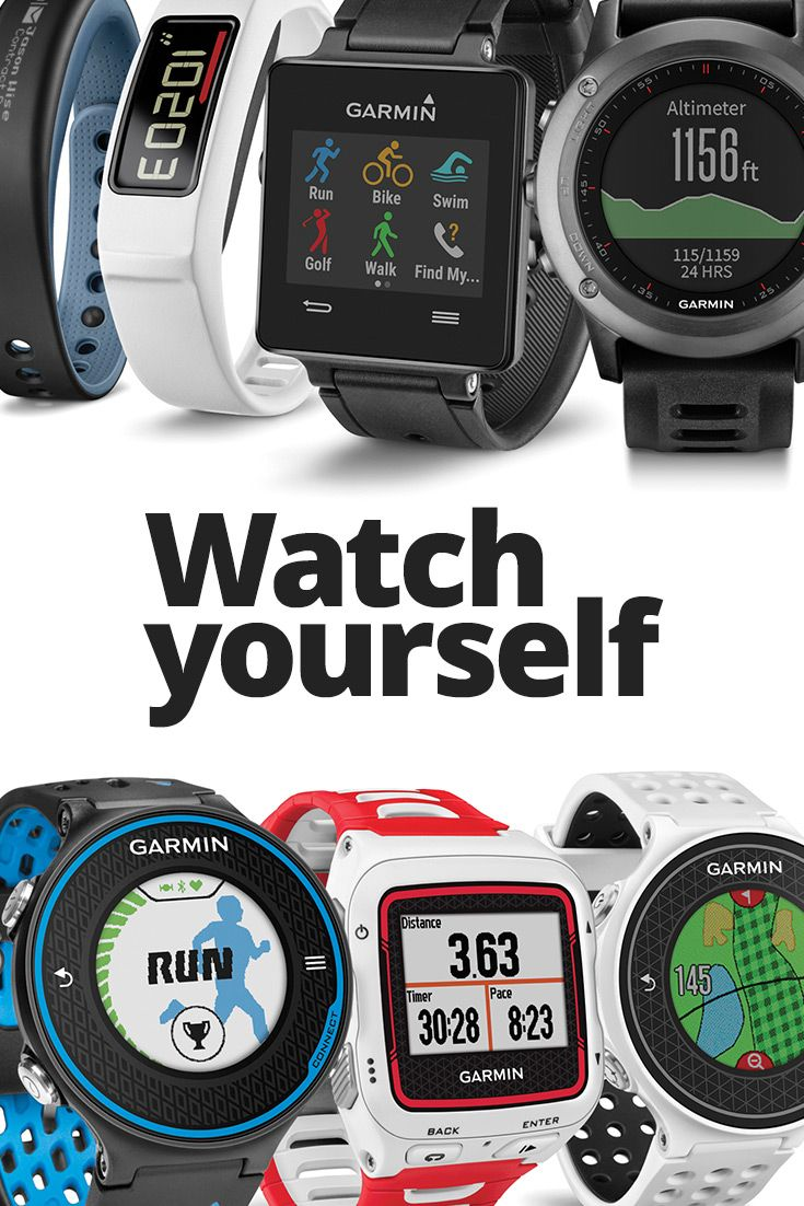 Running, biking, swimming - Whatever your sport, we've got a watch for you.