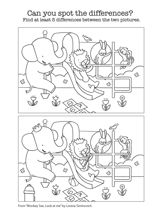 Spot the Differences Activity for Monkey See, Look At Me | Visual Discrimination Activity for Kids https://www.teachervision.com/early-learning/printable/73203.html