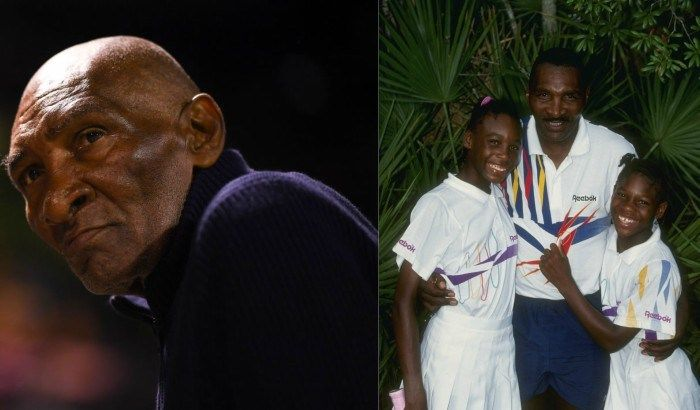 Richard Williams gets inducted into Tennis Hall of Fame
