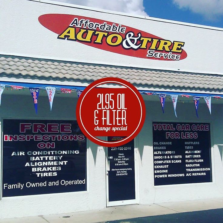 Traveling for the holidays? Make sure your vehicle is prepared! Let Affordable Auto & Tire Service take care of your precious cargo this holiday season with their $21.95 oil and filter change special - grab the coupon in our bio