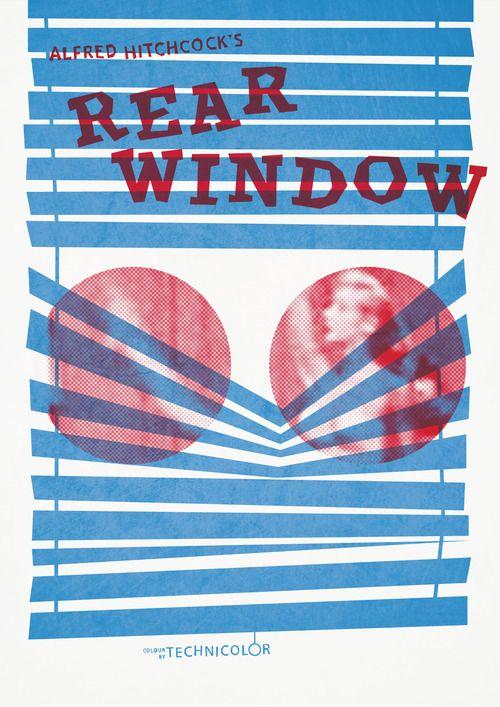 Movie Poster: Rear Window by Abbas Mushtaq