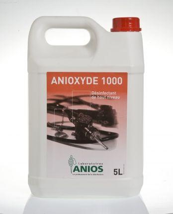 Anioxyde 1000 5 l Preparat do manualnej dezynfekcji wysokiego poziomu endoskopów i innych termolabilnych wyrobów medycznych na poziomie sporobójczym.