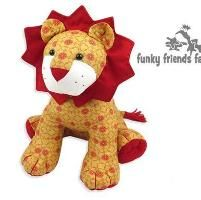 LION Pattern - Soft Toy sewing pattern