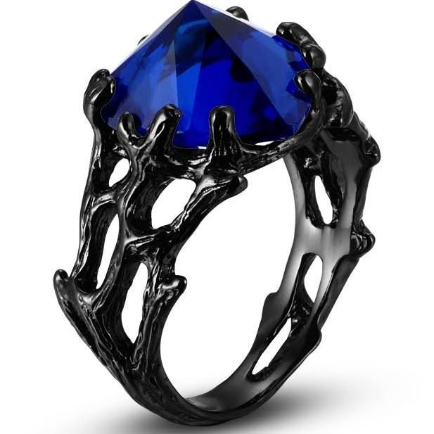 1000  ideas about Black Sapphire Ring on Pinterest | Black sapphire, Gold pendants and Sapphire rings