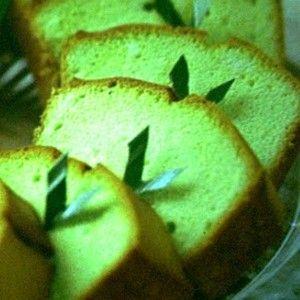Cara membuat Kue Bolu Rasa Pandan - Resep Membuat