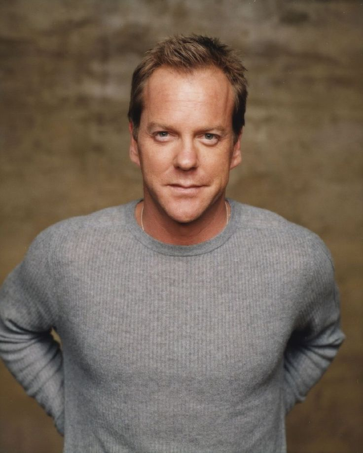 Kiefer Sutherland. Not only is he hot and a great actor, he has one of 'those' voices.