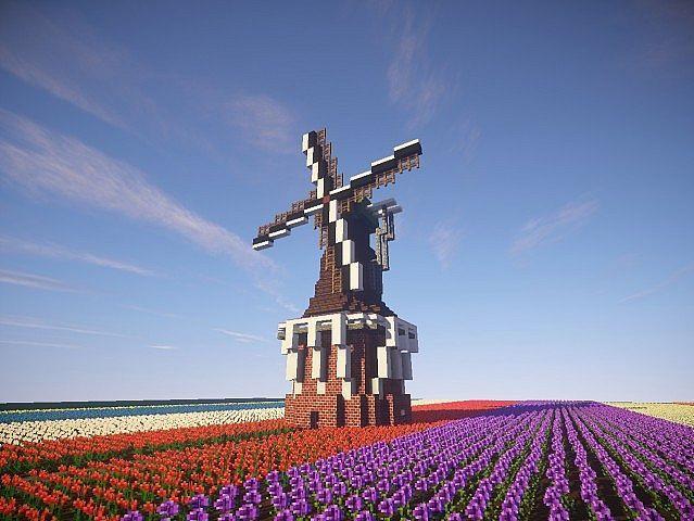 Traditional dutch windmill Minecraft Project