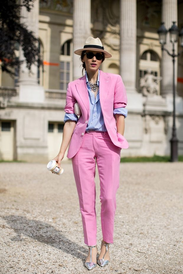 Outfits at Chanel Couture: Street Style