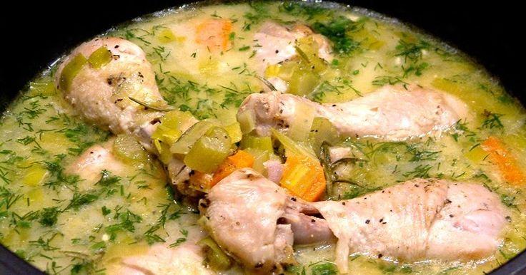 Kurczak w aromatycznym sosie koperkowym z rozmarynem zdrowe odżywianie jadłospisy zmiana nawyków żywieniowych porady.