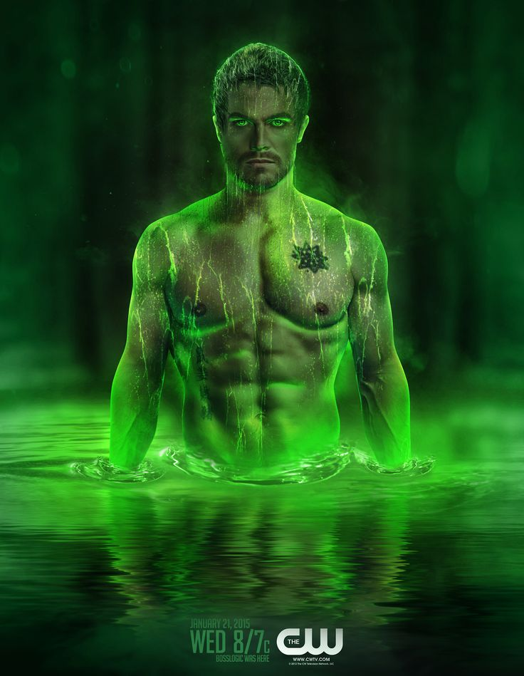 Arrow - Lazarus Pit: Oliver Queen - by bosslogicInc