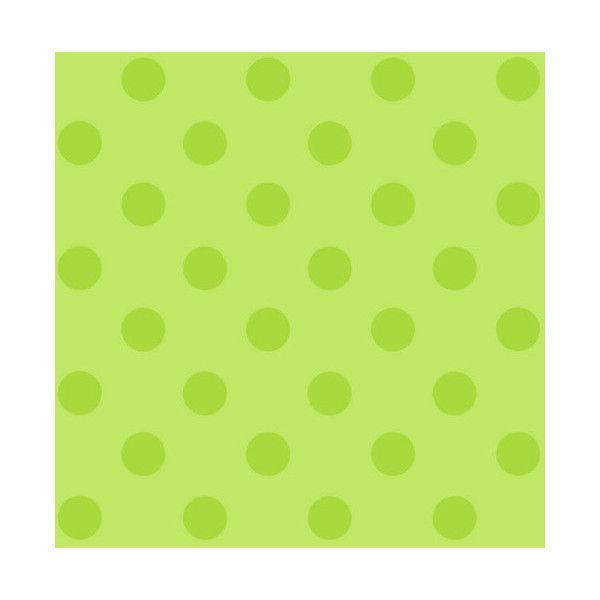 York Wallcoverings DS7607 Polkadot Wallpaper Lime Green Home Decor (86 AUD)  ❤ Liked On Part 78