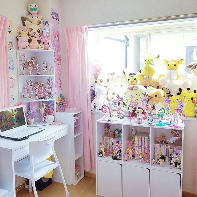439 Best Kawaii Bedroom Images On Pinterest