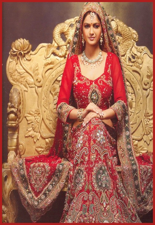 Bridal Gharara And Sharara Wedding Dress Designs