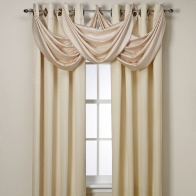 insola odyssey grommet top insulating window curtain panel