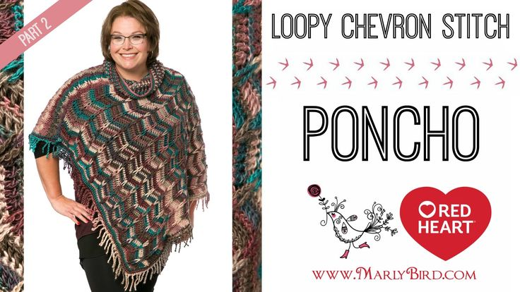 Marly Bird Poncho Crochet-along Section 2
