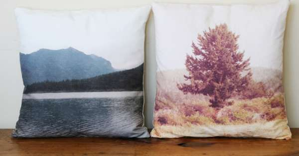 DIY Scenic CushionsDiy Scenic, Crafts Ideas, Diy Landscapes, Diy Crafts, Landscapes Photos, Throw Pillows, Diy Projects, Diy Pillows, Landscapes Pillows