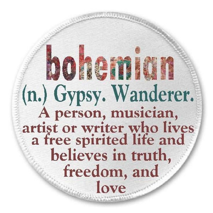 a definition of a bohemian Definition of boheme in the definitionsnet dictionary  information and  translations of boheme in the most comprehensive dictionary definitions resource  on the.