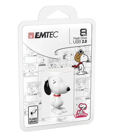 This Peanuts Snoopy Character 8-GB Flash Drive is perfect! #zulilyfinds