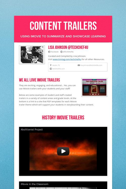 19 best iMovie images on Pinterest | Ipads, Videography and ...