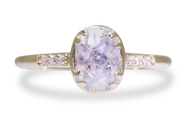 .78 Carat Luminous Gray Diamond in Yellow Gold http://ss1.us/a/mwYyl9hG