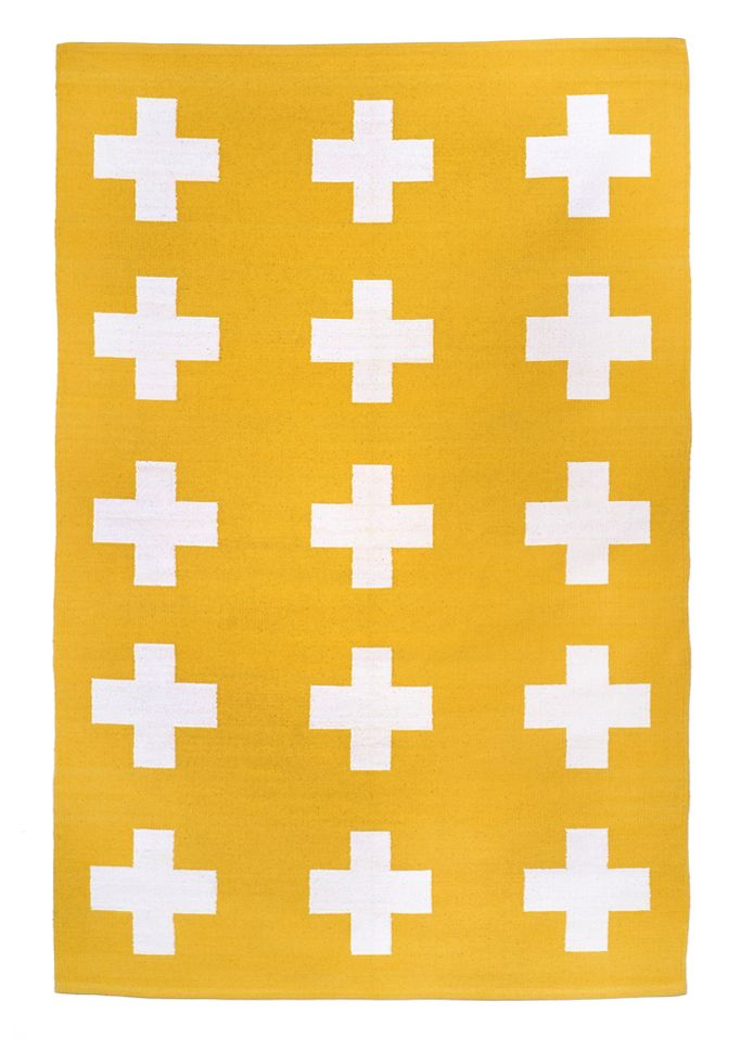 Union Rug in Yellow by Pattern Society - love this!