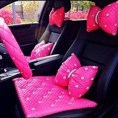 17 best ideas about bling car on pinterest glitter car hot pink cars and pink drive - Girly interior car accessories ...