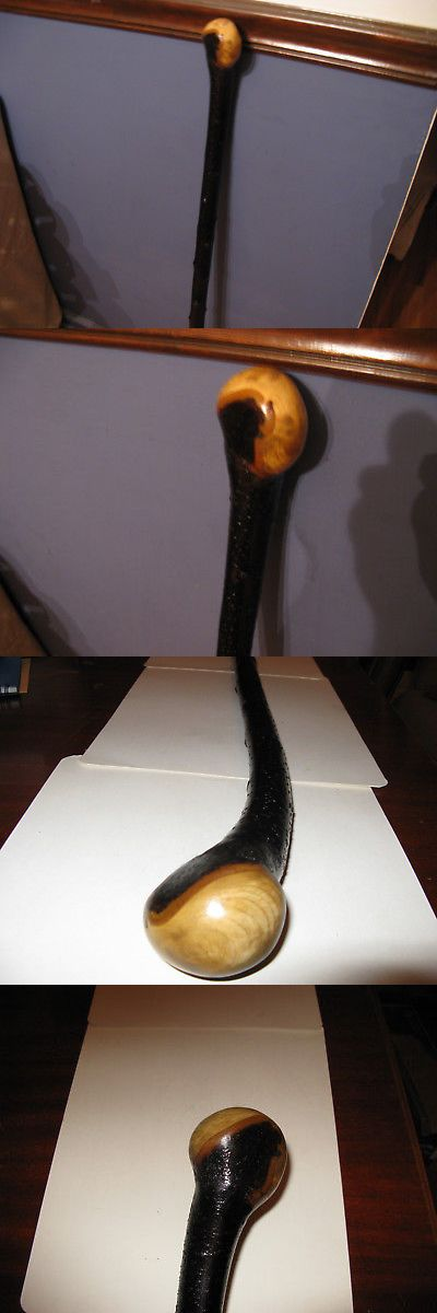 Canes and Walking Sticks 152537: Absolutely Stunning Blackthorn Shillelagh Walking Stick Bata, -> BUY IT NOW ONLY: $175 on eBay!