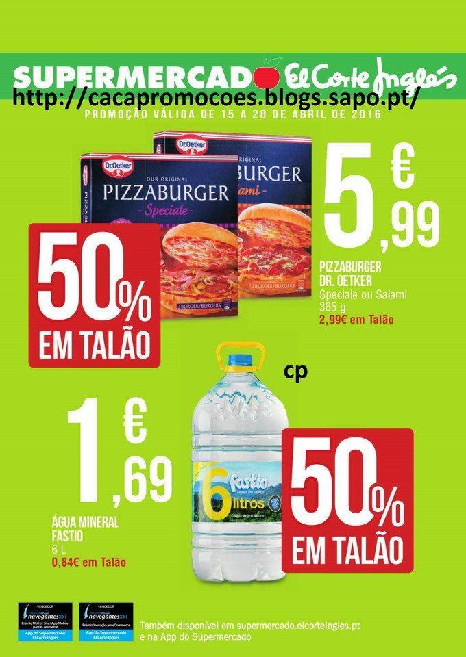 Promoções Supermercado El Corte Inglês - Antevisão Folheto 15 a 28 abril - http://www.parapoupar.com/promocoes-supermercado-el-corte-ingles-antevisao-folheto-15-a-28-abril/