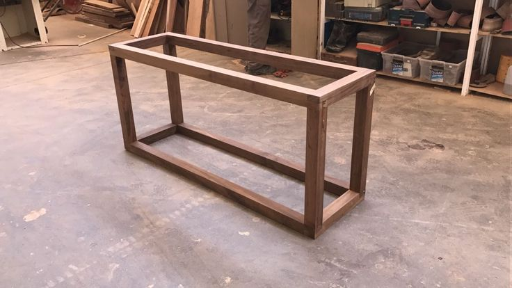 Brazilian Walnut frame proves that beauty lies in simplicity #capetown #legs #table