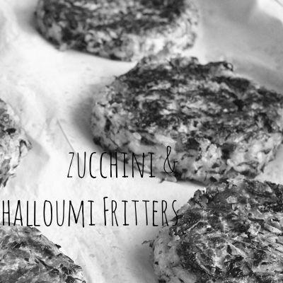 Zucchini & Halloumi Fritters using homemade halloumi | Omnom Cheese Making | Sydney