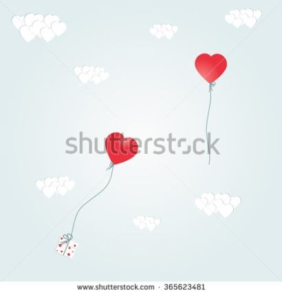 Hearts for Valentine's Day and other romantic celebrations and events. Vector illustration and raster copy.