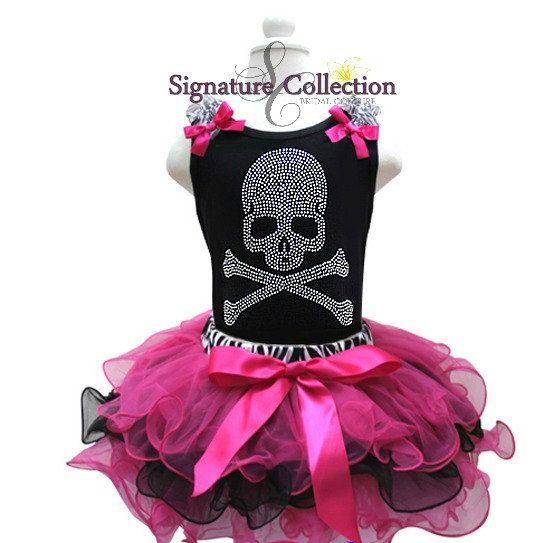 Rockstar Birthday Halloween Tutu set by SignatureCollectionB, $65.00
