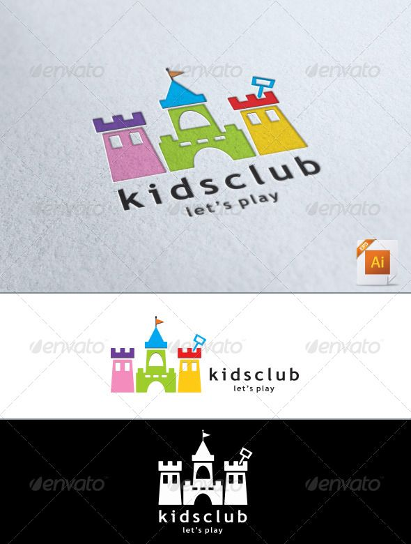 Kids Club Logo - Symbols Logo Templates