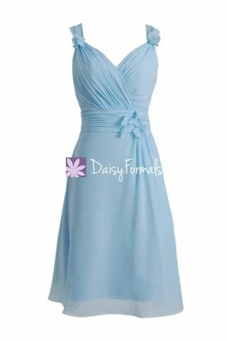 Elegant Ice Blue Bridesmaids Dress Cocktail Bridesmaid Dress (BM10298) – DaisyFormals-Bridesmaid and Formal Dresses in 59+ Colors
