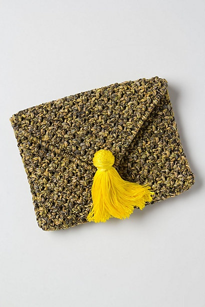 totally going to crochet this clutch instead of paying $48 for it. #anthropologie