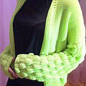 Пончо вязаное женское, вязаная одежда женская , свитер вязаный женский – купить или заказать в интернет-магазине на Ярмарке Мастеров   Пончо женское вязаное 46-48 размер, вязаная…
