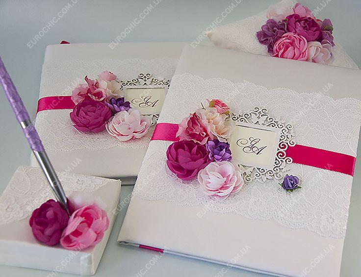 Свадебная папка Розово-лиловое очарование