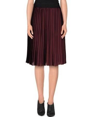 Vicolo Women's Deep purple Knee length skirt, size:ONESIZE INT