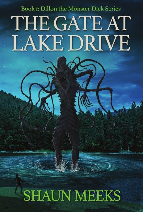 My new novel, The Gate at Lakes Drive, from IFWG Publishing. Cover by Steve Santiago.