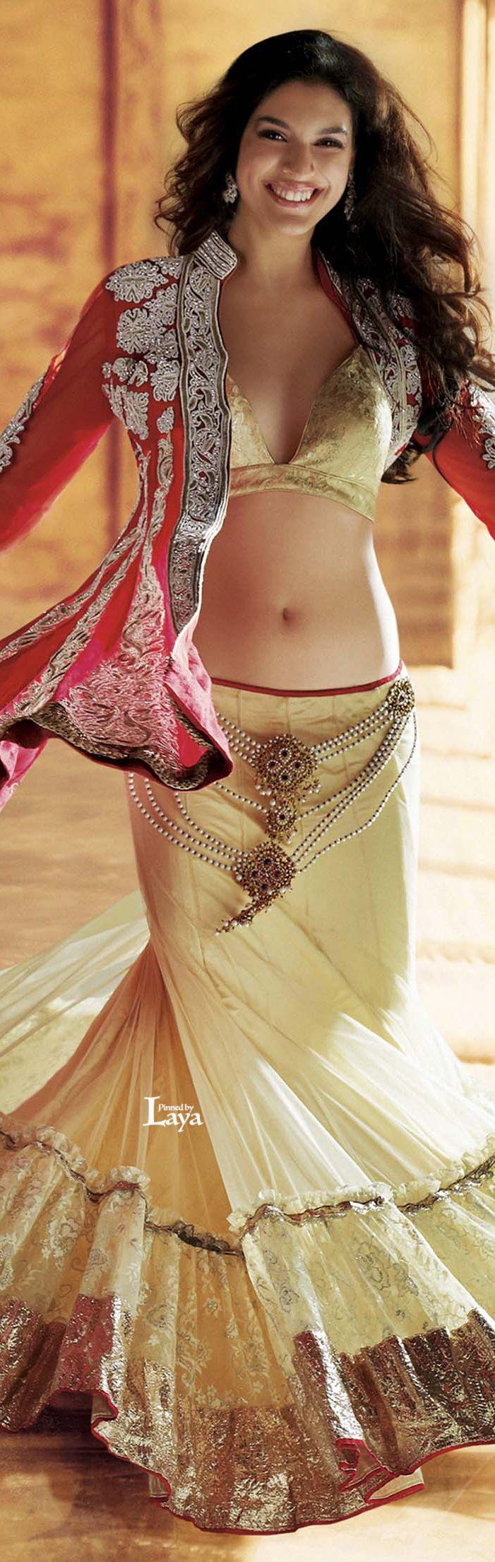 Red and cream lengha choli  #DeshiFashion #OnlineShoppingMall #DeliveringTrust