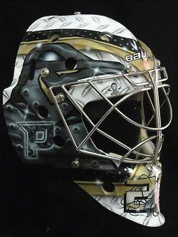 Fluery's Pittsburgh Goalie Mask